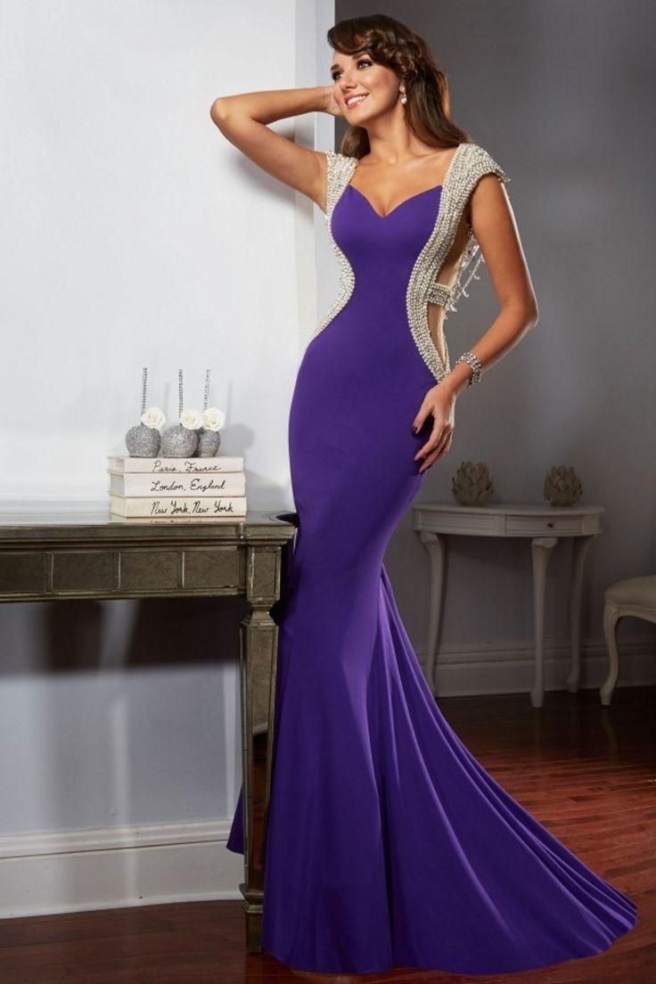 awesome Красивые фиолетовые платья (50 фото) — Самые выигрышные сочетания
