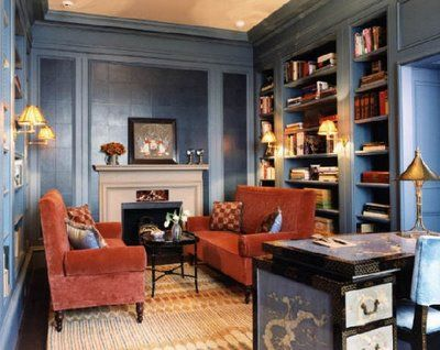 Google Image Result for http://stylecarrot.com/wp-content/uploads/2012/05/katie-ridder-blue-bookshelves.jpg