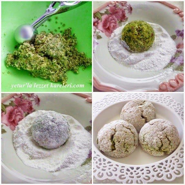 Adanada gazipaşa cad. Mado pastanesinin meşhur fıstıklı koko kurabiyeleri vardır ve çok lezzetlidir  bu  tarif o kurabiyelere hemen h...