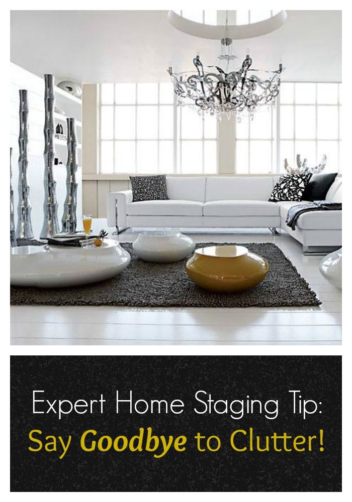 Staging Tip 101: Get rid of clutter! Here's how!