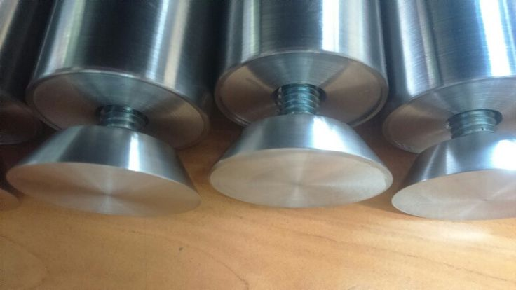 Separadores para cubierta de cristal para perforación avellanada