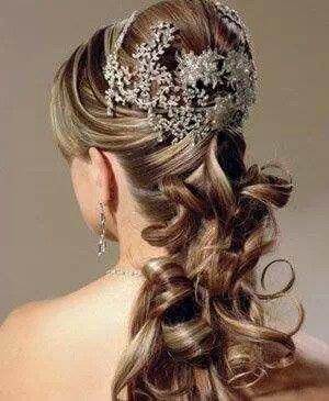 Peinado de boda
