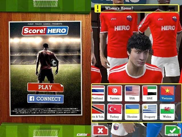 حميل لعبة سكور هيرو 2017 Score Hero أخر إصدار