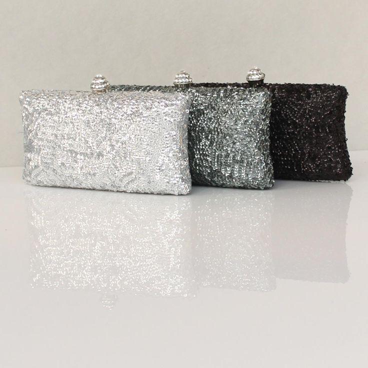 Fabulous Metallic MinI Box Clutches