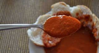 sundaymorning: Zuppa di pomodoro super light per le serate fredde / Healty tomato soup