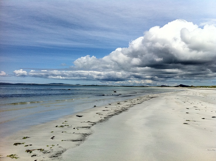 Beach on the north end of South Uist