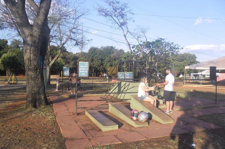 S1 - Local de exercícios físicos também usado como local de encontro.