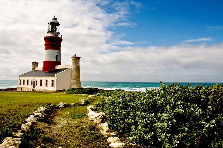 Cape Agulhas Lighthouse, Western Cape, South Africa