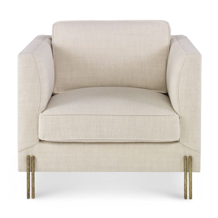 KELLY WEARSTLER | MELANGE CLUB CHAIR. An elegant classic with a richly textured burnished bronze finish