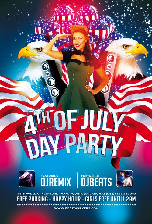 4th July Poster and Flyer PSD Template - http://freepsdflyer.com/4th-july-poster-and-flyer-psd-template/ Enjoy downloading the 4th July Poster and Flyer PSD Template created by Bestofflyers!   #4ThOfJuly, #Club, #Dance, #Electro, #IndependenceDay, #MemorialDay, #Minimal, #Nightclub, #Party