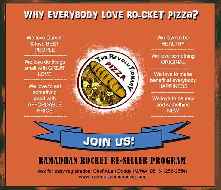 Sahur Sahuur, yok pada niat puasa, semoga pintu - pintu berkah dan segala kebaikan mengiringi ibadah puasa kita, Aamiin YRA! #rocketpizza #rocketreseller #ramadhanmubaraq #rocketpizzaindonesia #carabarumakanpizza #revolutionarypizza #quickbite #superbmeal #kulinerhebat #kulinerindonesia #madeinindonesia #rocketroll #pizzaroll #jualanyuk