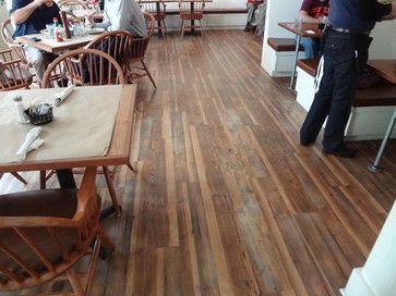 Karndean Vintage Pine traditional dining room