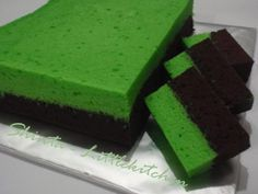 .: Berkreasi di Dapur Mungil :.: Brownies Kukus Coklat Pandan