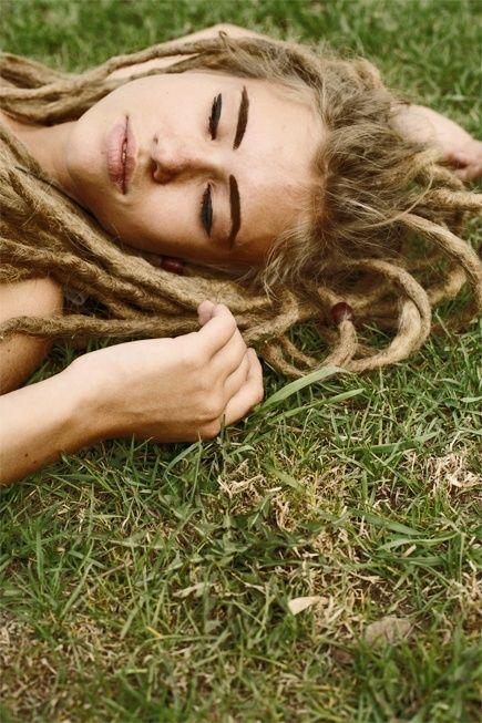 Natural Blonde Dreads