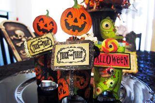 DIY Toilet Paper Roll Napkin Halloween Treat Holders | Jubilee Crafts