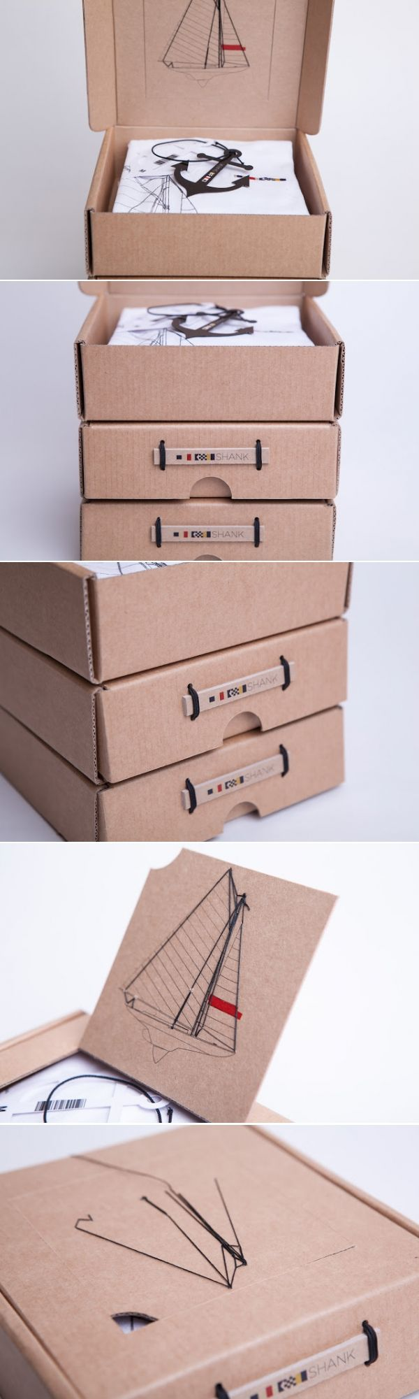 Shank t-shirt design and packaging
