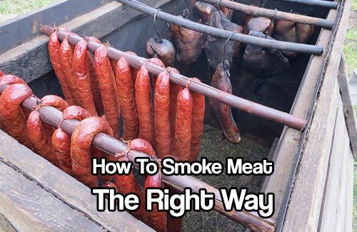 How To Smoke Meat The Right Way. Smoking meat is a fun way to preserve the meat, keeping its flavor intact. See how smoking your meat can help you preserve