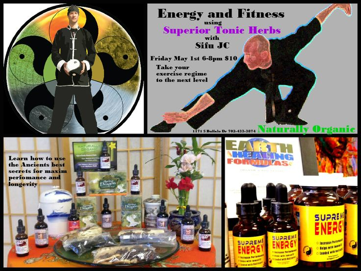 Combining over 20 years of experience with Martial Arts, Nutrition and Herbology, Sifu JC has developed this lecture to teach you the best methods for optimum performance to add to your exercise regime. Using tried and true Shaolin exercise techniques combined with the highest quality Superior Tonic Herbs, you will have a incredibly powerful arsenal to take you to the healthy lifestyle you deserve   $10 for 2 hours of life changing knowledge