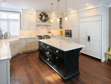 White Kitchen Black Island 85 best kitchen island images on pinterest | kitchen islands