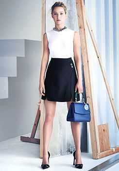 "Jennifer Lawrence for ""Be Dior"" Spring/Summer 2015"