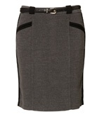 Side Panel Pencil Skirt