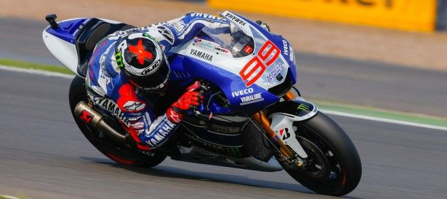 Lorenzo course MotoGP grand prix de Grande Bretagne 2013