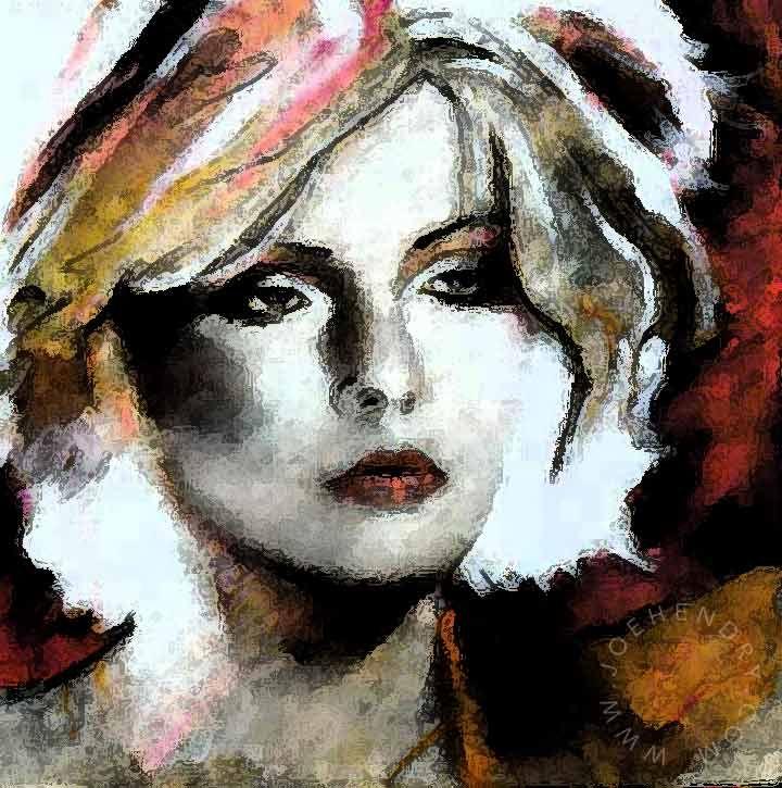 Painting Debbie Harry