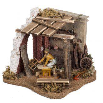 Carpintería para pesebre 12cm, Fontanini | venta online en HOLYART