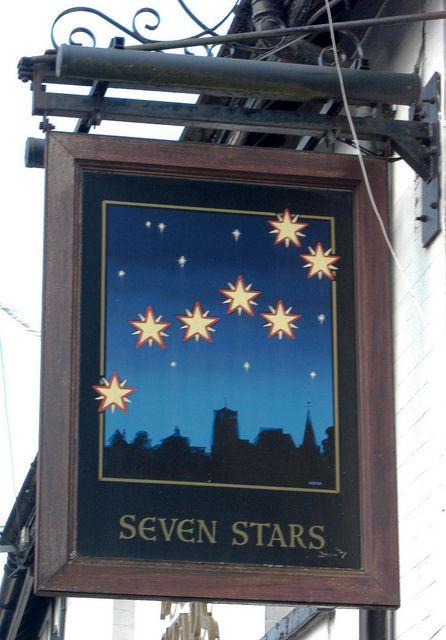Kennford, England, United Kingdom - Kennford Pub sign Seven Stars Devon   Flickr - Photo Sharing!