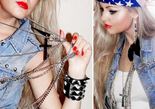 Rock N Roll Fashion Tumblr Rock 39 D Pinterest Vests