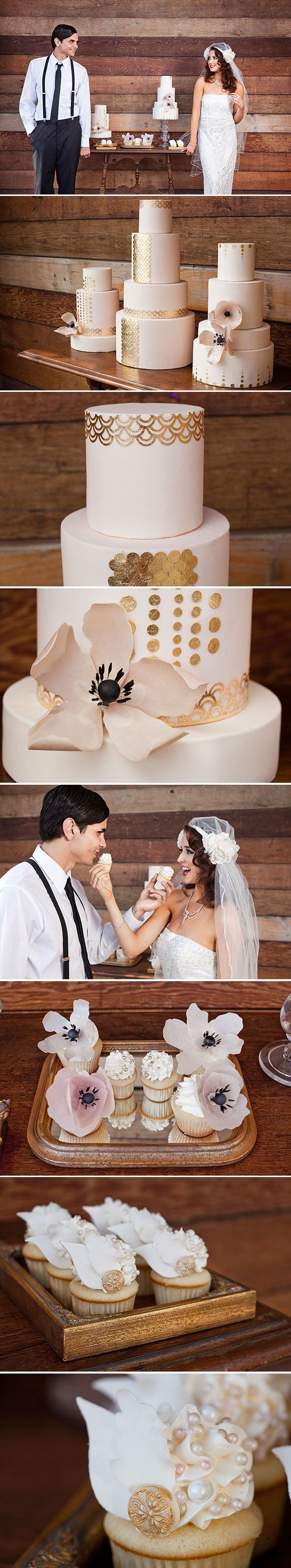gatsby wedding desserts
