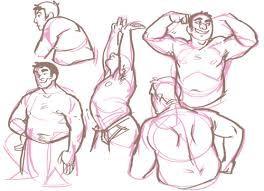 how to draw chubby guys - Pesquisa do Google