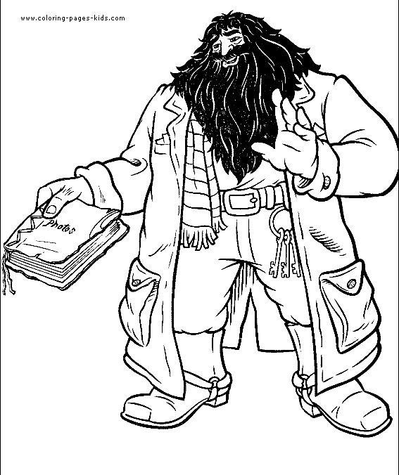 harry potter color page cartoon characters coloring pages color plate coloring sheet - Harry Potter Coloring Pages Ginny