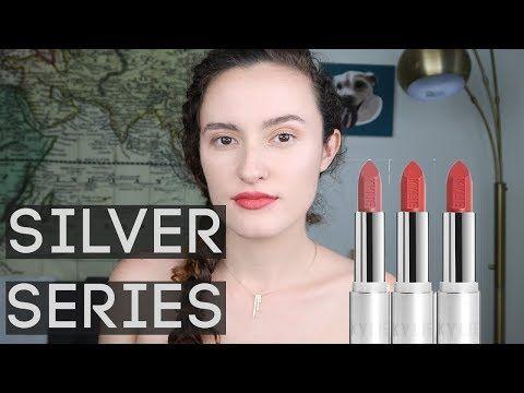 KYLIE COSMETICS  | Silver Series Lipstick Swatches  | FAIR SKIN | CRUSH + PASSION + MADELEINE http://cosmetics-reviews.ru/2018/01/05/kylie-cosmetics-silver-series-lipstick-swatches-fair-skin-crush-passion-madeleine/
