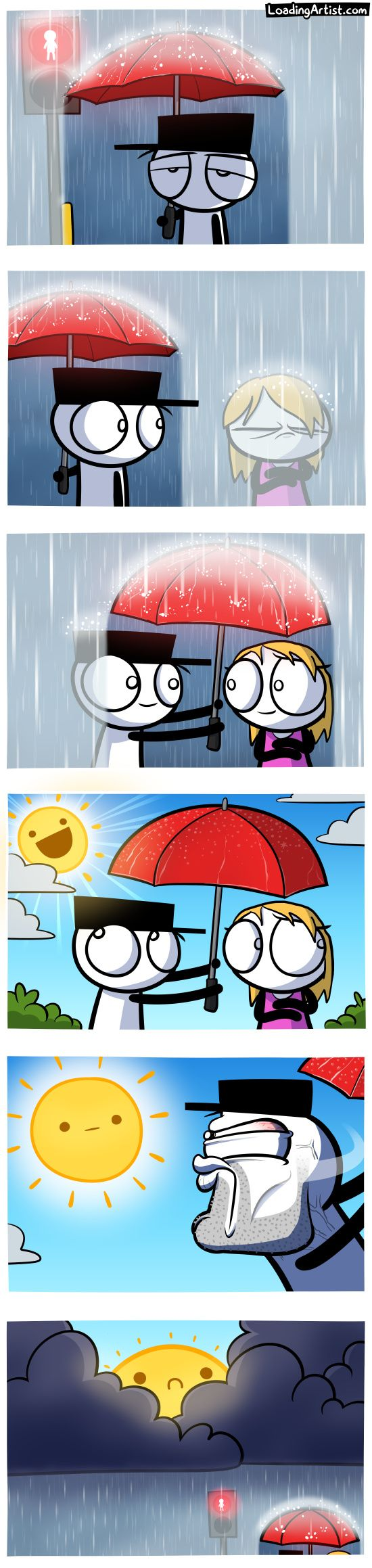 A comic about sharing a moment.. tap to view the full comic!