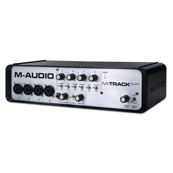 Scheda Audio M-Audio Quad 24-bit / 96kHz Alimentazione 48v Ingressi Audio: 4x Combo jack XLR/TRS Selettore Mic/Line o Instrument 4x Insert jack 1/4″ TRS 2 Uscite 1/4″ bilanciate con controllo del livello 2 Uscite (3 & 4) 1/4″ bilanciate a livello fisso Switch monitor Stereo/Mono Uscita cuffie con controllo del livello Connessione USB Hub […]