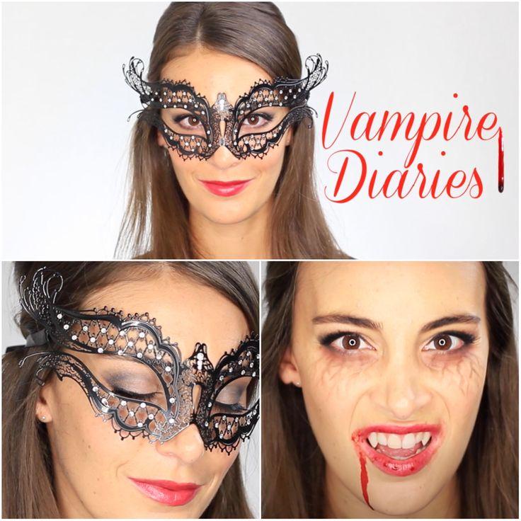 Plus de 1000 id es propos de tutos beaut missgworld sur pinterest coiffures chignons et - Maquillage vampire facile ...