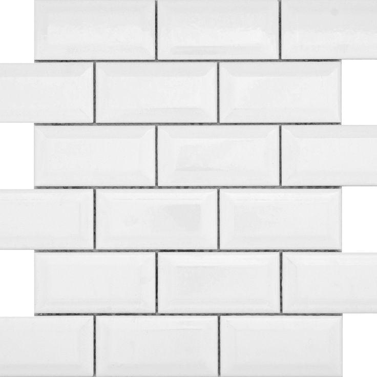 Unit 1 Emser Tile Vogue Beveled 2x4 On 12 Quot Mesh For