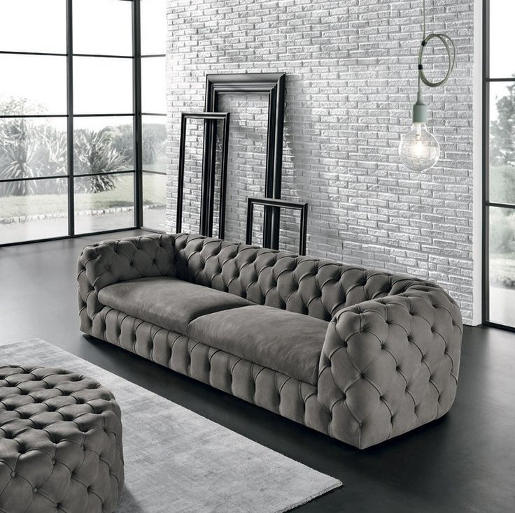 Chesterfield Sofa Autografo u Discover the fort of a MaxDivani handcrafted sofa The Autografo has a wooden frame and goose down padding that are characteristic of Italian
