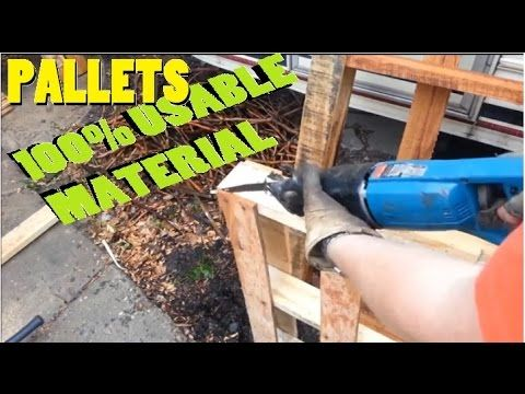 How To Easily Dismantle Pallets Without Splitting Or Breaking The Ends – This Is The Best Method We've Ever Seen - The Good Survivalist