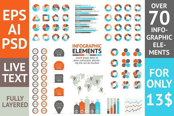Infographic Elements Bundle by TheSeamuss on @creativemarket infographic template word infographic template powerpoint free editable infographic templates infographic template psd infographic template illustrator infographic timeline template infographic template google docs infographic generator
