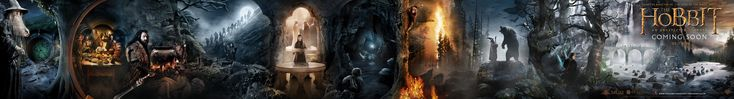 panoramic banner for The Hobbit