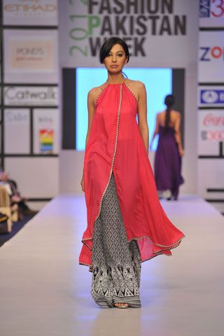 wow this is beautiful - love the color combination and the fabric detailing... Umar Sayeed at Fashion Pakistan Week 2012 Day 2
