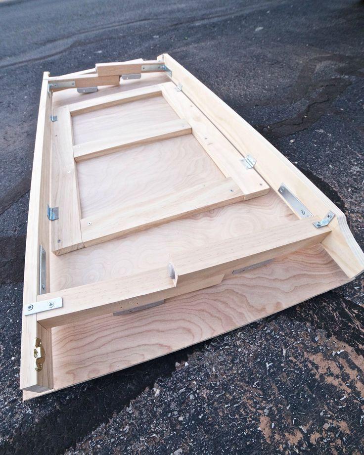 Collapsable Minimal Bulk Sleeping Platform