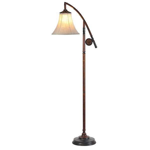 Fly Fishing Floor Lamp Vintage Floor Lamp Floor Lamp Task Floor Lamp