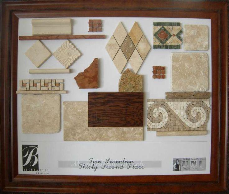 Interior Design Material Boards