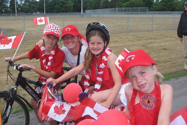Canada Day in Wellington - Photo thanks to Saskia Koning