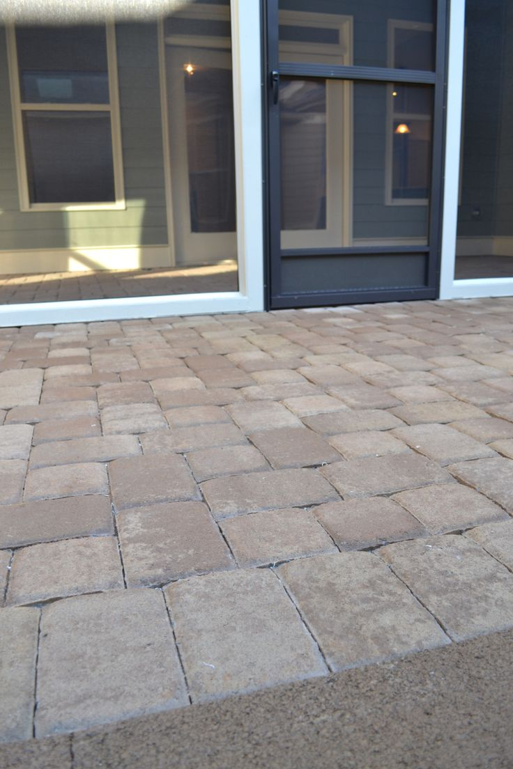 Pavers used here look fabulous!
