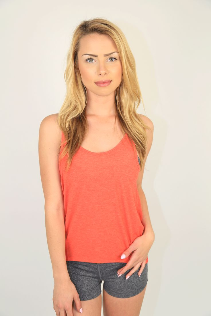 PRODUCT DESCRIPTION:  Super-Soft Low Back Slouch Tank from Campus Crew is 66% Polyester, 29% Viscose, 5% Elastane, Featuring draped open back slouch detail, matching neck and armhole binding and shorter front shaped hemline.  PRODUCT COMPOSITION:  66% polyester, 29% viscose, 5% elastane