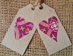 Heart - Gift Tag - Tree-free